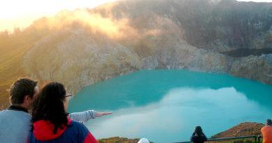 Вулканот Келимути - Индонезија
