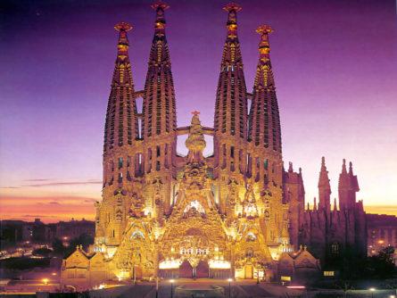 "Катедрала ""Sagrada Família"", Барселона - Шпанија"