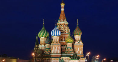 "Катедрала ""St. Basil"", Москва - Русија (2)"
