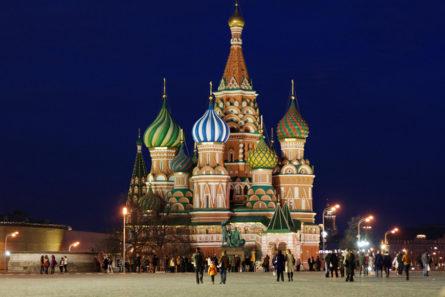 "Катедрала ""St. Basil"", Москва - Русија"
