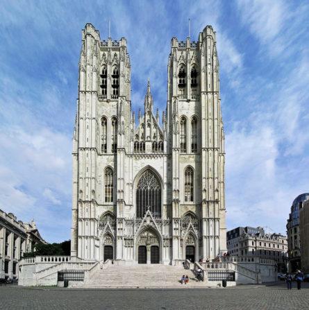 """Катедрала """"St. Michael & St. Gudula"""", Брисел - Белгија"""