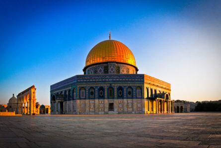 """Храм """"Dome of the Rock - Qubbat As-Sakhrah"""", Ерусалим - Израел"""