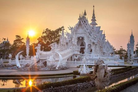 """Храм """"Wat Rong Khun - Белиот Храм"""" - Тајланд"""